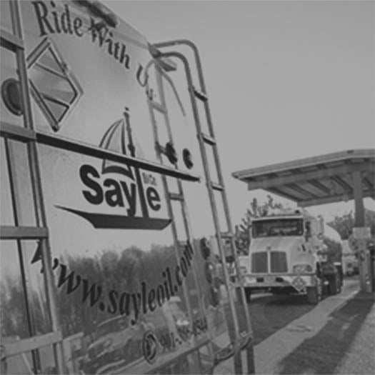 Sayle Oil trucks photo